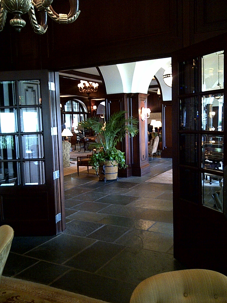 Partial View Of Lobby, The Lodge at Sea Isle, St Simon, GA
